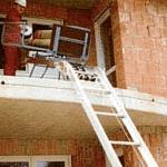 Demontabele ladderliften